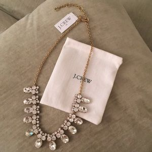 J.Crew rhinestone necklace